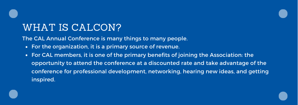 What is CALCON?